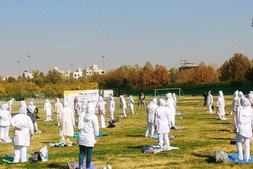 سایت جامع یوگا ایران اخبار همایش یوگا زنان مشهد