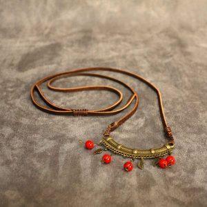 سایت-جامع-یوگا-ایران-محصولات-گردنبند-لبخند-فیروزه-تبتی